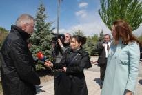 Ewald Stadler MEP gives interview on Armenian tv