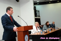 Artak Zakarian MP (Armenia) delivers welcoming address